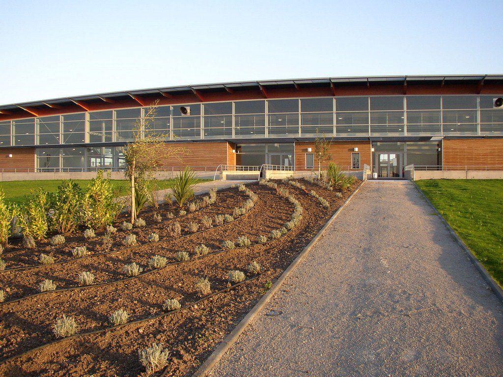 Cognac complexe sportif paysages et p pini res for Entretien jardin charente
